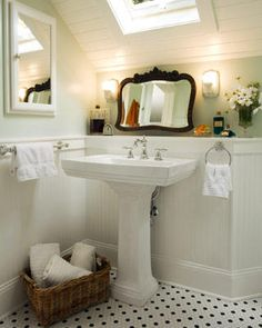 Small space bathroom = perfect.