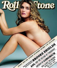 Brooke Shields For Rolling Stone, October 1996