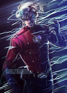 TheFlash: Hunter Zolomon by DarkLitria