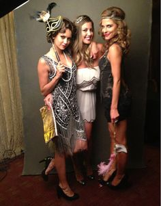 Nina Dobrev Dresses Like a Flapper For Julianne Hough's Birthday! (PHOTOS)