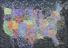 Paula Scher's Colorful Maps Show the Whimsy in Geography | Mental Floss