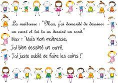 Un carré sans coins ? : Les perles des enfants - Linternaute.com Actualité