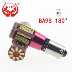 KEIN 1PCS Pure White BA9S 57smd 3014 led car Canbus Error Free Clearance/License Plate/Tail/Panel Dome/Door/Lamp Bulb Lights 12V