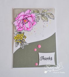 Hello, Good day to you. Here I am with another card using Altenew 'Beautiful day' stamp set. I have used a pink and grey color combin...