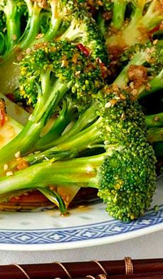 Sesame Garlic Broccoli