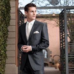 Dark grey suit
