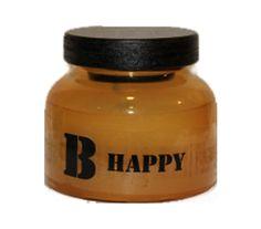 "Vela aromática en frasco cristal ""B happy"""