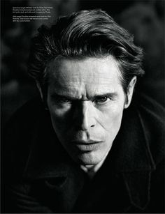 Willem Dafoe for AnOther Man Magazine by Willy Vanderperre.
