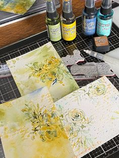Art Journal Techniques, Shading Techniques, Paint Techniques, Tim Holtz Distress Ink, Distress Markers, Watercolor Paintings For Beginners, Watercolor Techniques, Watercolor Cards, Watercolor Background