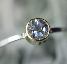 Aquamarine Ring - Every Day Jewelry