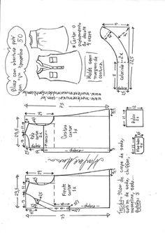 Blusa com abertura paté em V | DIY - molde, corte e costura - Marlene Mukai