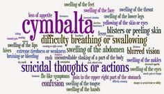 Cymbalta: FDA KILLER DRUG: For support :https://www.facebook.com/groups/Cymbaltahurtsworse/