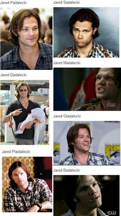 The Fabulous Jared Padalecki, everyone. *tremendous applause*