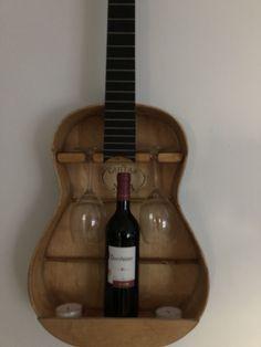 Diy Kitchen Storage, Diy Kitchen Cabinets, Guitar Shelf, Dining Room Hutch, Happy Birthday Gifts, Decoration, Room Inspiration, Wine Rack, Woodworking