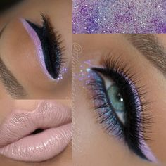 Lilac eyes/nude lips @theamazingworldofj Instagram