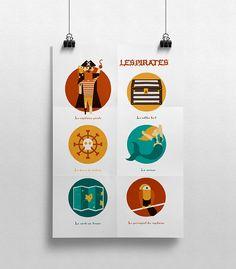 Affiche d'illustration pour enfants.