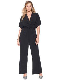 83a20c8036 Black wide leg jumpsuit women Black long sleeve jumpsuit Black ...