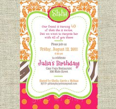 Girl Baby Shower Instead - Printable by you - girls at play