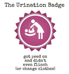The Urination Badge