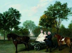 1776 The Reverend Robert Carter Thelwall and His Family by George Stubbs