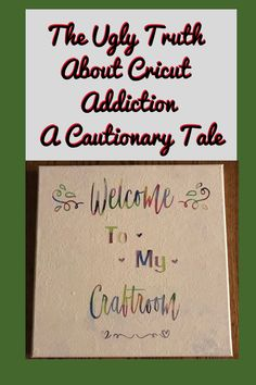 The Ugly Truth About Cricut Addiction- A Cautionary Tale.I saw it years ago and it sparked a desire in me but oh my I wanted it! Cricut Christmas Ideas, Best Christmas Gifts, Winter Ideas, Summer Ideas, Homemade Storage, Signs Of Addiction, Cricut Htv, Painted Wooden Signs, Wonderful Machine