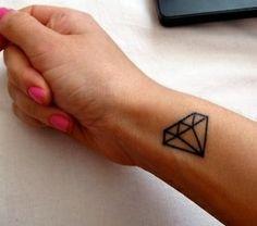 My diamond tattoo will exist at the start of June!! X Tattoos?????? | tattoos picture diamond tattoo