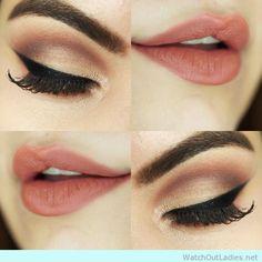 Adele inspired make up