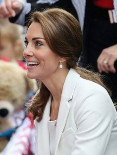 Beautiful smile on a beautiful and happy Duchess 2016