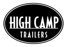 High Camp Trailers™ is an award-winning teardrop trailer manufacturer in Portland, Oregon in the Pacific Northwest. Motorcycle Camper Trailer, Trailer Manufacturers, Teardrop Trailer, Camper Trailers, Buick Logo, Camping, Outlines, Campsite, Camper