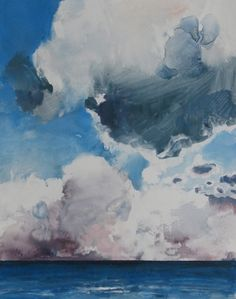Over the Sea 25, painting by artist Randall David Tipton