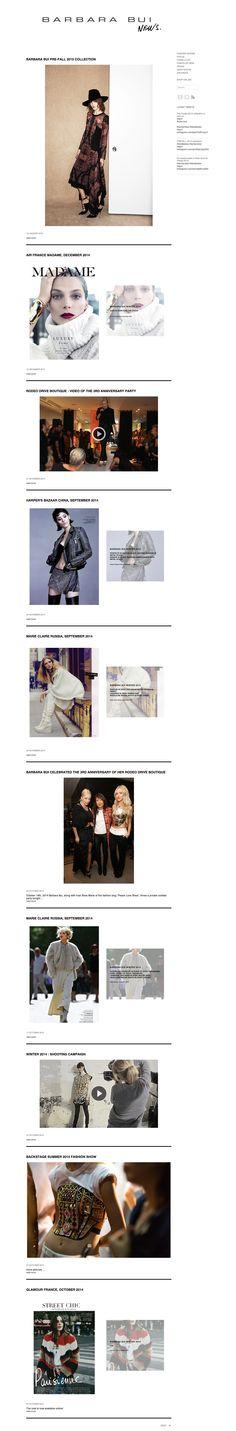 ニュースページ http://corporate.barbarabui.com/latest-news