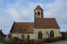 Eglise Saint-Denis te Foulangues (Oise 60)