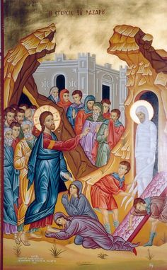 The Raising of Lazarus by Jesus the Christ