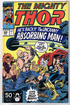 The Mighty Thor #436 Comic Book
