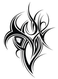 Wall Mural Tattoo design