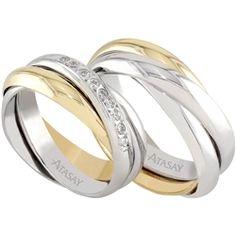 Atasay taşlı alyans Fashion Rings, Jewlery, Dream Wedding, Wedding Rings, Engagement Rings, Wedding Ideas, Weddings, Clothes, Style