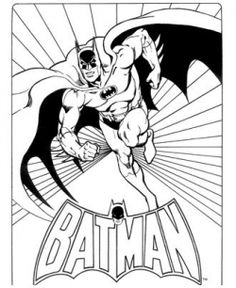 Batman Coloring Pages - always be the batman