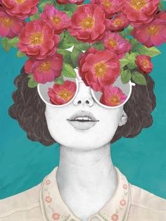 The Optimistrosetinted Glasses Art Print by Laura Graves. Find art you love and shop high-quality art prints, photographs, framed artworks and posters at Art.com. 100% satisfaction guaranteed.