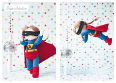 Isabelle Kessedjian crochet superwoman doll