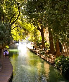 """San Antonio's River Walk. So very pretty at night... as you come out of one of the bars after a few too many drinks and walk straight into the unprotected """"river"""".   Being the antithesis of """"grace and poise"""" I feel very lucky that I do not drink. Uncoordinated and drunk. Not a good combination with open water."""