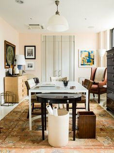 Thomas OBrien Found the Most Flattering Paint Color: Benjamin Moores Tissue Pink - Architectural Digest