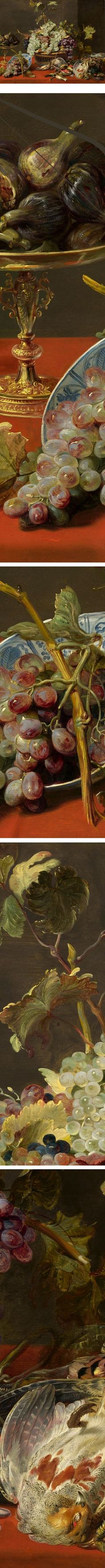 Still Life with Grapes and Game, Frans Snyders