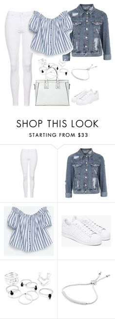 """""""Untitled #3989"""" by keliseblog ❤ liked on Polyvore featuring Topshop, adidas and Michael Kors"""