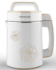 Joyoung Easy-Clean Automatic Hot Soy Milk Maker (Full Stainless Steel Large Capacity with FREE Soybean Bonus Pack >>> You can find more details by visiting the image link. Cool Kitchen Gadgets, Small Kitchen Appliances, Cool Kitchens, Kitchen Small, Cooking Gadgets, Cooking Tools, Milk Makers, Specialty Appliances, Soy Milk