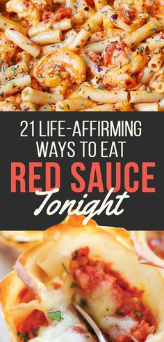 21 Red Sauce Recipes That Might Save Your Life