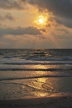 Sunset @ Sand Key Beach, Clearwater, Florida