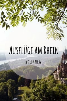 Hier findest Du tolle Ausflugstipps rund um den Rhein in Nordrhein-Westfalen. ©️️ Congress GmbH Region Bonn, Rhein-Sieg, Ahrweiler Homman