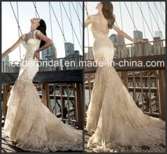 db7299d94f3 China Mermaid Wedding Dress Pink Tulle Lace Beaded Beach Bridal Gown Find  details about China Wedding Dress