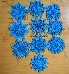 Quilling by Ada: Stelute