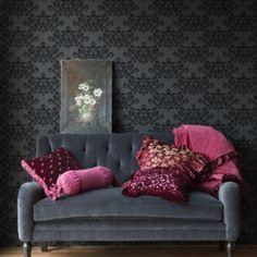 Plantillas decorativas para pintar y decorar paredes como - Decoracion de interiores paredes ...